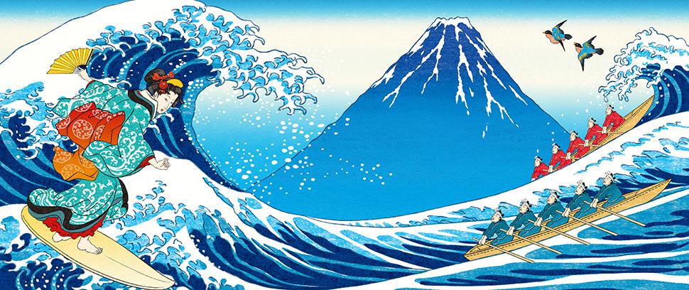 おいしい水富士山ラベル